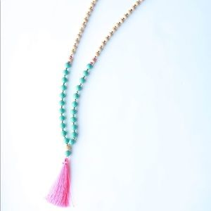 Boutique Tassel Necklace